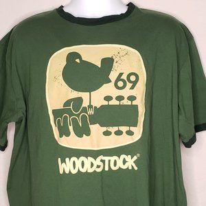 Retro Woodstock Music Festival Size 3X 1969 Rock